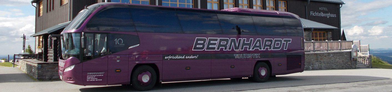 Wilkommen auf der WebSeite von Bernhardt-Touristik